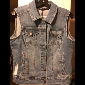 Max Jeans Jean Vest